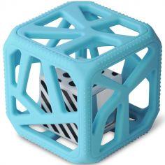 Hochet cube de dentition bleu