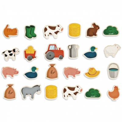 Magnets ferme (24 pièces) Janod