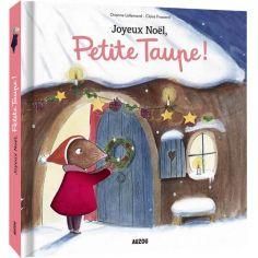 Livre à toucher Joyeux Noël, Petite Taupe !