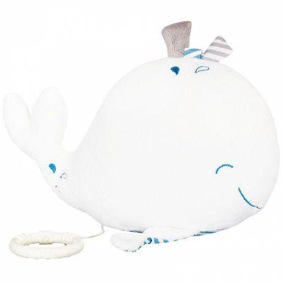 Peluche musicale Blue baleine  par Sauthon