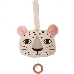 Coussin musical à suspendre léopard