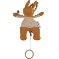 Peluche musicale Iconiques Paco ocre (23 cm)