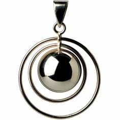 Bola anneau double résine noire