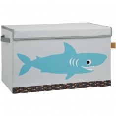 Coffre à jouet caisse de rangement Requin océan