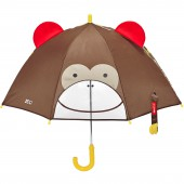 Parapluie Zoo singe marron - Skip Hop