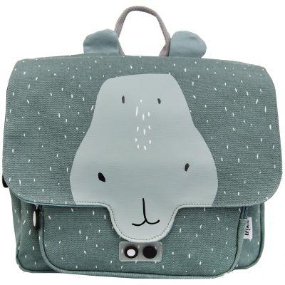 Cartable maternelle hippopotame Mr. Hippo  par Trixie