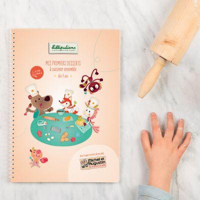 Livre de recettes Mes premiers desserts Little Chef  par Lilliputiens