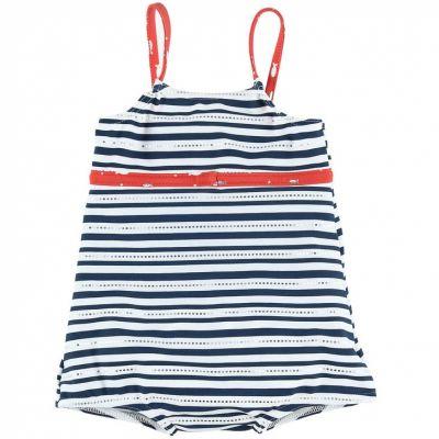 Maillot de bain 1 pièce rayé Ocean girl (9-12 mois)  par Archimède