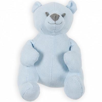 Peluche ourson Classic bleu ciel (35 cm) Baby's Only