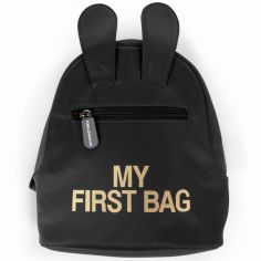 Sac à dos bébé My first bag noir (23 cm)