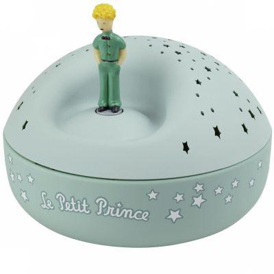 Veilleuse projecteur d'étoiles musical Le Petit Prince (12 cm)  par Trousselier