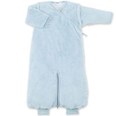 Gigoteuse chaude Magic Bag en softy bleu gris breeze TOG 2,5 (80 cm)  par Bemini