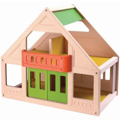 Ma premire maison de poupes plan toys berceau magique for Personnaliser ma propre maison