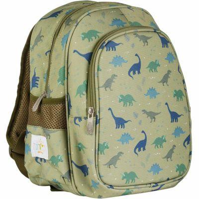 Sac à dos avec poche isotherme Dinosaure  par A Little Lovely Company