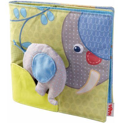 Livre bébé en tissu Eléphant Egon  par Haba