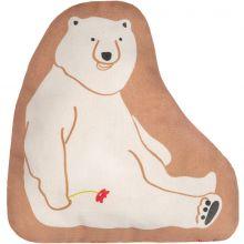 Mini coussin ours amoureux (25 x 19 cm)  par Mimi'lou