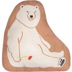 Mini coussin ours amoureux (25 x 19 cm)