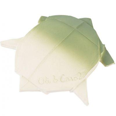 Tortue H2Origami en latex d'hévéa  par Oli & Carol