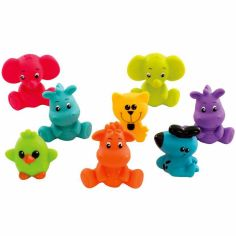 Lot de 9 animaux arroseur de bain