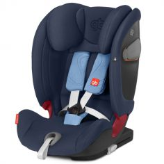 Siège auto Isofix groupe 1/2/3 Everna-Fix Night Blue