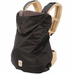 Imperméable noir doublure polaire pour porte-bébé