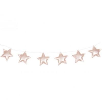 Guirlande étoiles rose poudré  par Cotton&Sweets
