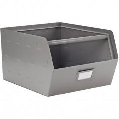Casier de rangement en métal Original gris (30 x 29cm)