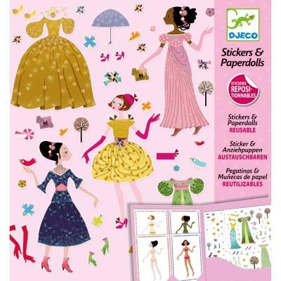 Kit de création stickers Robes des 4 saisons