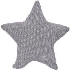 Coussin étoile grise (40 cm)