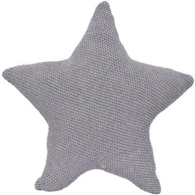 Coussin étoile grise (40 cm)  par Kikadu