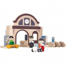 La gare  par Plan Toys