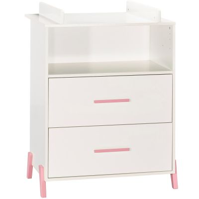 Commode à langer Joy rose Baby Price