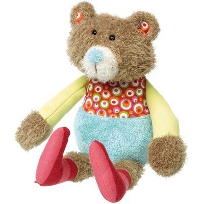 Peluche ours Patchwork Sweety (31 cm) Sigikid