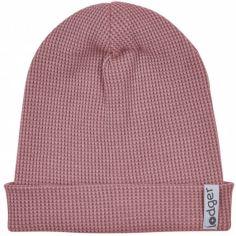 Bonnet de naissance en coton Ciumbelle Nocture rose foncé (0-6 mois)