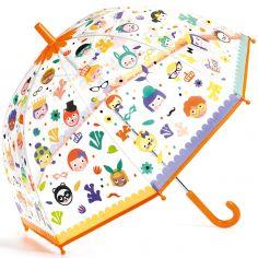 Parapluie enfant magique faces