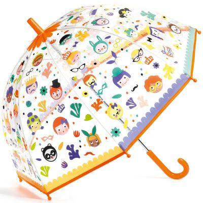 Parapluie enfant magique faces  par Djeco
