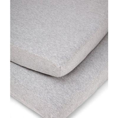 Lot de 2 draps housses Mix & Match gris (70 x 140 cm)  par Mamas and Papas