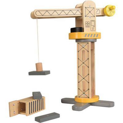 Grue de chantier en bois  par Egmont Toys