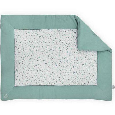 tapis de jeu tiny waffle vert d 39 eau 80 x 100 cm jollein. Black Bedroom Furniture Sets. Home Design Ideas