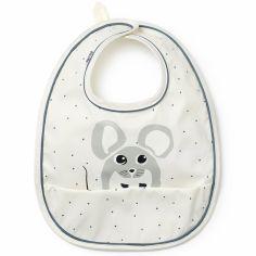Bavoir à poche souris Forest Mouse Max