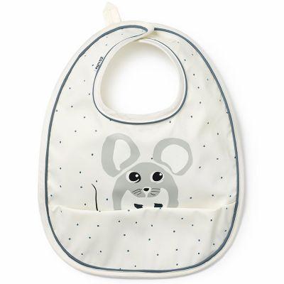 Bavoir à poche souris Forest Mouse Max  par Elodie Details