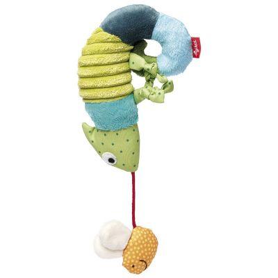 Peluche à suspendre caméléon (27 cm) Sigikid