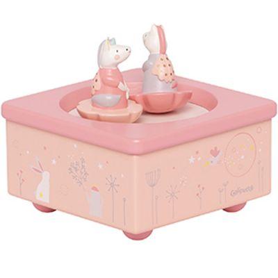 Boîte à musique magnétique licorne Lilou et Perlin  par Galipette