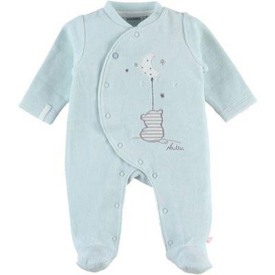 Pyjama chaud mint tigre Anna & Milo (1 mois)  par Noukie's