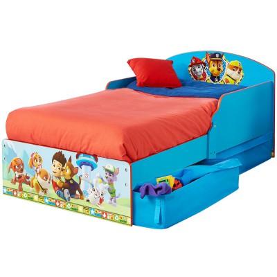 lit enfant p 39 tit bed pat 39 patrouille avec tiroirs de. Black Bedroom Furniture Sets. Home Design Ideas