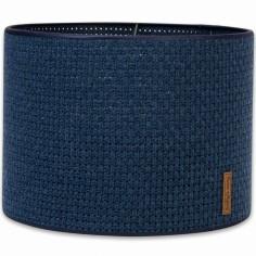 Abat-jour Robust Maille bleu jeans (30 cm)
