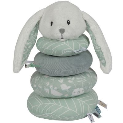 Pyramide lapin en peluche Adventure mint  par Little Dutch by Tiamo
