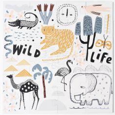 Puzzle géant animaux Wild Life (24 pièces)