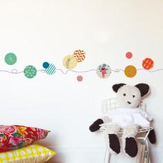 frise murale chambre bb ou enfant berceau magique. Black Bedroom Furniture Sets. Home Design Ideas