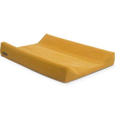 Housse de matelas à langer Brick velvet moutarde (50 x 70 cm)  par Jollein